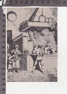 CO-1346 STAMPA DI ACHILLE PINELLI LA CUCINA DIPITNI PITTURE ARTE - Trade Cards