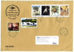 Lettre Recommandée Du Centre Philatélique De Papeete - Polynésie Française