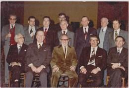 TOURNAI  Ancienne Photo  Sainte Cécile  (6/2/77) Orchestre Du Royal Cabaret Wallon Tournaisien - Personnes Anonymes