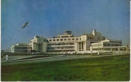 Seattle International Airport, New Terminal, C1940s Vintage Postcard - Aerodrome