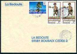 Lettre Commerciale Cachet De FAAA-AEROPORT - Frans-Polynesië