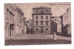 FRASCATI Piazza Cavallotti   Very Fine Used From Frascati To Rome 3-2-14 - Italia