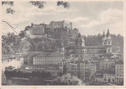 AK Salzburg - Blick Vom Imberg Auf Altstadt Und Festung - Ca. 1940 (11370) - Salzburg Stadt