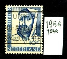 OLANDA - NEDERLAND - Year 1954 - 10 Cent - Usato - Used. - Gebruikt