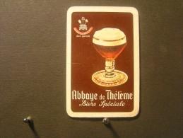 Playing Cards / Carte A Jouer / 1 Dos De Cartes De La Brasserie - Brouwerij - Coq D'Or - Wegnez / Abbaye De Thélème - - Cartes à Jouer