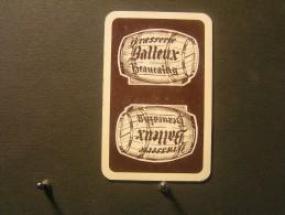 Playing Cards / Carte A Jouer / 1 Dos De Cartes - Brouwerij - Brasserie  Balleux, Beauiraing .- - Cartes à Jouer