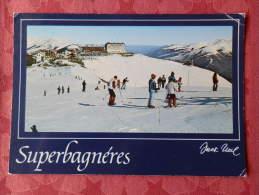 Cpm SUPERBAGNERES LUCHON , 3 , Vue Générale De La Station (1.687) - Superbagneres