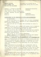 Brandweer Maldegem 1972 / Reglement Notulen / 21p - Pompiers