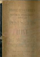 Maldegem Lijst der vrouwelijke kiezers 1938-1944 / 235p