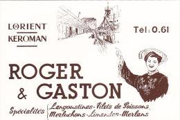 CPM ROGER Et GASTON - Lorient - Kéroman - Lorient