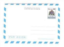 SAN MARINO 1978 Postal Stationary A10-B5-C50-C51    Very Fine Mint  4 Scanning - Postal Stationery