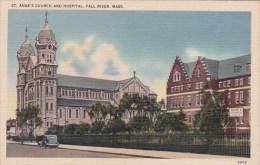 Massachusetts Fall River Saint Annes Church And Hospital