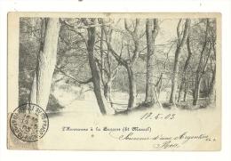 Cp, 13, L´Huveaune à La Barasse (St-Marcel, Voyagée 1903, - Marseilles