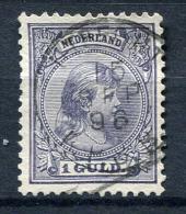 27608) NIEDERLANDE # 44 Gestempelt Aus 1891, 85.- € - 1891-1948 (Wilhelmine)
