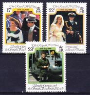 GEORGIE DU SUD 1986 YT N° 163 à 165 ** - Géorgie Du Sud