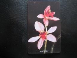 Urmet Phonecard,orchid,mint - Sierra Leone
