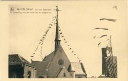 Weelde-Straat - De Sint Janskapel - De Verslering Van Den Toren Bij De Inzegening - Ravels