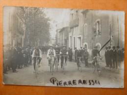 COURSE DE VELOS CARTE PHOTO - Cycling