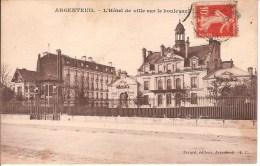 ARGENTEUIL - L´HOTEL DE VILLE - CARTE POSTALE DE 1915 - Argenteuil