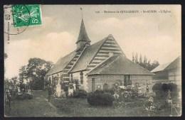 SAINT - AUBIN . L'Eglise . - Saint-Aubin-d'Ecrosville