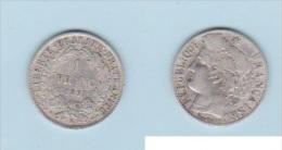 NAPOLEON III  // 1 FRANC   1871 K   //  TTB  // - Francia