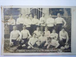 UNION  SPORTIVE  CASTELNAURIENNE  (RUGBY) -    Gallego  Photo ,  Maubourguet  -  RARE  1912