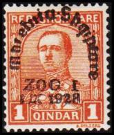 1928. ACHMED ZOGU. ZOG I./1.IX. 1928. 1 Q.  (Michel: 179) - JF126522 - Albania