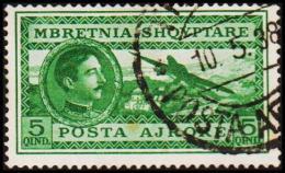 1930. POSTA AERORE 5 QIND (Michel: 228) - JF126604 - Albania