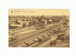 CPA BELGIQUE FARCIENNES Le Campinaire Vue Panoramique  ( Gare Wagons Locomotive) - Farciennes