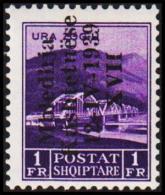 1939. Mbledhja Kushtetuese 12-IV-1939 XVII. 1 FR.  (Michel: 291) - JF126658 - Albania