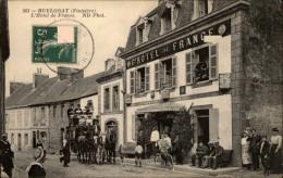 29 - HUELGOAT - Hotel De France  - Diligence - Transport - Huelgoat