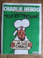 JOURNAL CHARLIE HEBDO N° 1178 Du 14 Janvier 2015 - TIRAGE N° 11109 - - Journaux - Quotidiens