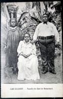 OCEANIE  ILES GILBERT  FAMILLE DU CHEF BUTARITARI  ETHNOLOGIE  GILBERT 'ISLAND - Postcards