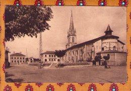 1 Cpa Pouillon Place De L Eglise - France