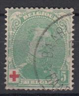 BELGIË - OBP - 1914 - Nr 129 - Gest/Obl/Us - 1914-1915 Red Cross