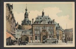 DF / BELGIQUE / PROVINCE DE NAMUR / NAMUR / LA BOURSE DU COMMERCE ET LE BEFFROI / AUTOCAR BRABANDER EXPRESS - Namur