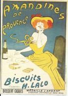 Amandines De Provence Biscuits H LALO    Affiche Cappiello - Advertising