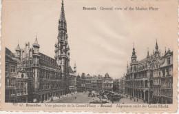 CPA - AK Bruxelles Brüssel Vue Generale De La Grand ´ Place Market Place Marche Belgien Belgique - Marchés