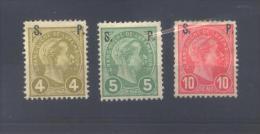 Luxembourg Sv 79/81 *  (MH) - Dienstpost