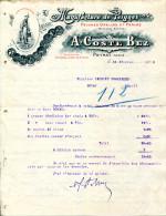 09.ARIEGE.PEYRAT.MANUFACTURE DE PEIGNES GRELLES & PERLES.A.COSTE BEZ. - France
