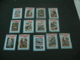 588- Hinged Belgie- Belgique-Belgium-  Fort   - Birds - Vogels - Boites D'allumettes - Etiquettes
