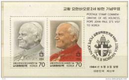 VISITA VIAGGIO PAPA GIOVANNI PAOLO II  IN COREA - Corea (...-1945)