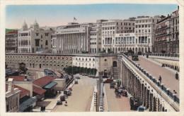 Ph-CPSM Alger (Algérie) Le Boulevard Carnot La Mairie Et La Préfecture, Petit Format - Alger