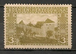 Timbres - Bosnie-Herzegovine - 1906 - 3 H. - - Bosnien-Herzegowina
