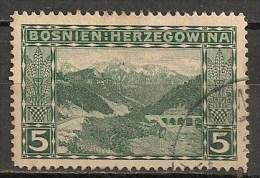 Timbres - Bosnie-Herzegovine - 1906 - 5 H. - - Bosnien-Herzegowina