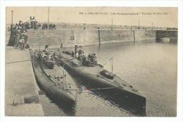 50  Granville - Les Submersibles  - Triton Et Marval - Granville
