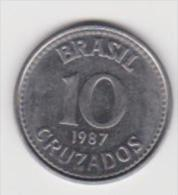 BRASILE  10 CRUZADOS  ANNO 1987 - Brasile