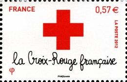YT4701 FRANCE An.2012 Croix-Rouge :  Logo De La Croix-Rouge Provenance Feuillet - Francia