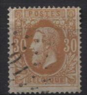N°33 Obl. Ambulant Spoorweg LP O.1. TB Obl. Centrale Et Sans Défauts. OUEST 1. TB Et Sans Défauts. Cote COBA 20€ - 1869-1883 Leopold II