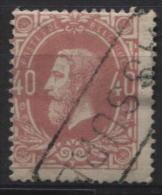 N°34 Annulation Griffe ASSURE; TB Et Sans Défauts. - 1869-1883 Leopold II